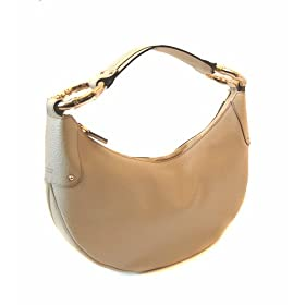 Gucci 211519 A6LOJ Ivory Leather Handbag