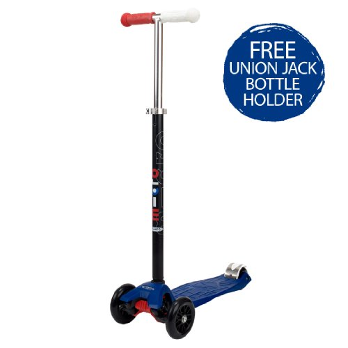 Maxi Micro Scooter Blue Special Edition with FREE Bottle Holder