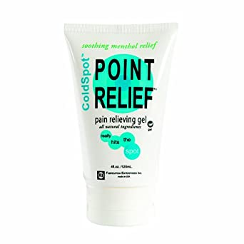 Point Relief 11-0730-12 ColdSpot Gel, 4 oz Tube (Case of 12)