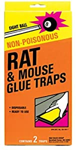 Eaton J T 289 Rat Glue Traps, 2-Pk. - Quantity 12