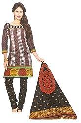 Sanjeeban Fashion Studio Women's Cotton Dress Material (FE_75_Multi-Coloured_Free Size)