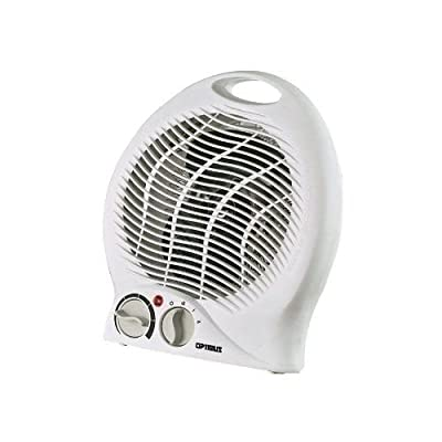 Optimus H-1322 Portable 2-Speed Fan Heater with Thermostat New