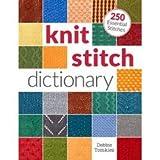 F&W Media (1-Pack) Interweave Press Knit Stitch Dictionary IP-38841