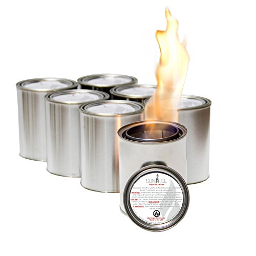 Sale!! SunJel Fireplace Gel Fuel 6 Pack