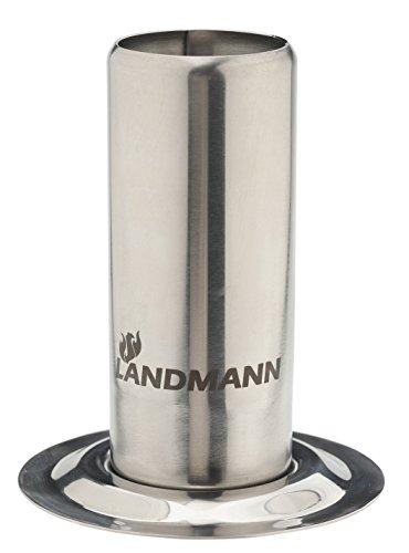 13442 accessorio barbecue LANDMANN / grill - accessori per barbecue / grill (12,5 cm, 10 cm) in acciaio inox