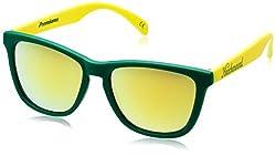 Knockaround Wayfarer Sunglasses (Green andYellow) (PRGL1079 52)