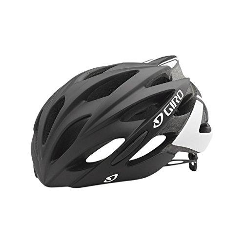 Giro Savant Bike Helmet - Matte Black/White Large (Road Cycling Helmet compare prices)
