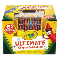 Ultimate Crayon Case, Sharpener Caddy, 152 Colors front-1036692