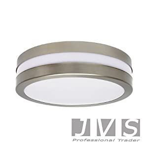 PROVANCE IP44 E27 ROUND ceiling wall lamp ceiling lamp wall lamp LED by JVS-Handel Germany