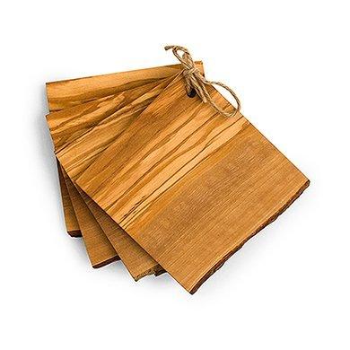 Weddingstar-Rustic-Coaster-Set-Wood