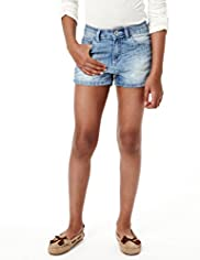 Limited Cotton Rich Twill Shorts