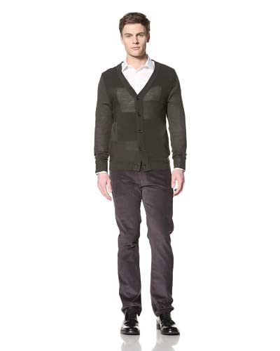 Surface to Air Men's Square Cardigan  [Khaki]