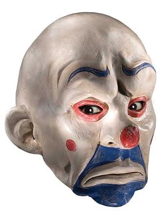 Amazon.com: Batman The Dark Knight Adult Joker Latex Clown Mask, White