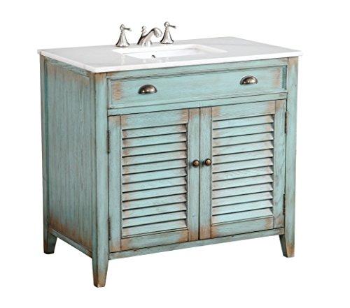 36 Cottage Look Abbeville Bathroom Sink Vanity Cabinet Model Cf28884bu