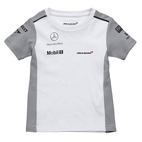 mclaren-2014-equipe-t-shirt-pour-bebe-blanc-blanc-baby-m-2-3-years