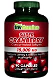 Super Cranberry 15,000 Mg Concentrate- 90 Capsules