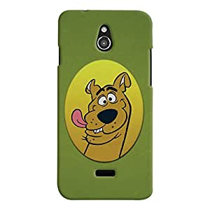 ColourCrust Infocus M2 Mobile Phone Back Cover With Scooby Doo - Durable Matte Finish Hard Plastic Slim Case