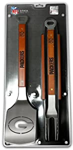 SPORTULA 3-PIECE BBQ SET - GREEN BAY PACKERS by SPORTULA PRODUCTS