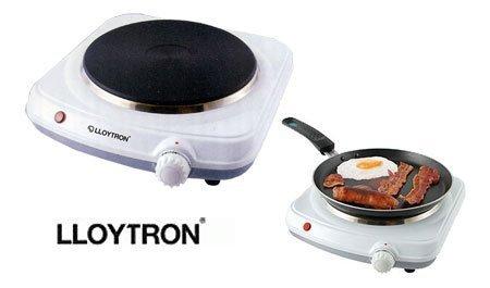(lloytron) Bonne Cuisine Table Top Hob (e831) White By Lloytron