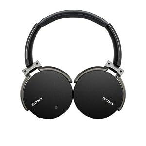 Sony MDR-XB950BT/B Extra Bass Bluetooth Wireless Headphones w/Microphone - Black