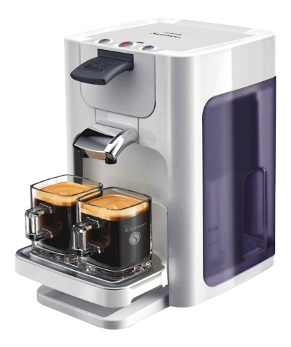 Philips Senseo Quadrante HD7860/10 Coffee Pod System, Bright Style