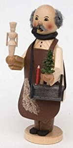 Wood Worker German Christmas Incense Smoker from Kuhnert