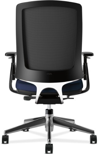 HON Lota Mid Back Work Chair with Mesh Back and Polished