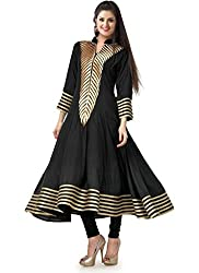 Fashion Galleria black fency cotton kurti