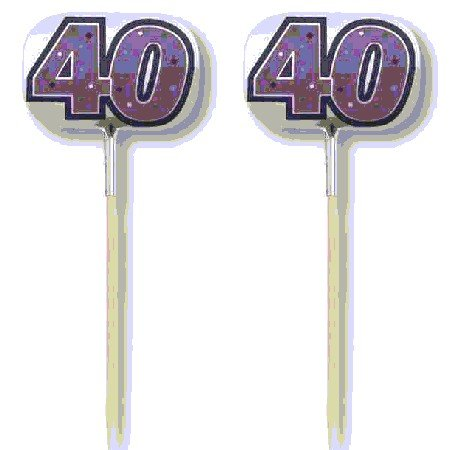 Foil Party Picks 40th