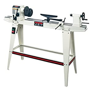 JET 708352 JWL-1236 Woodworking Lathe, 12-Inch Swing 3/4 HP 115-Volt 1-Phase