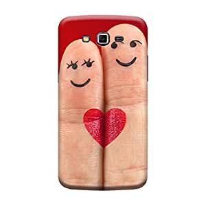 Digi Fashion Designer Back Cover with direct 3D sublimation printing for Samsung Galaxy Grand 2