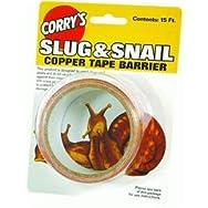 Slug And Snail Barrier Pest Repellent Tape-15' SLUG & SNAIL BARRIER