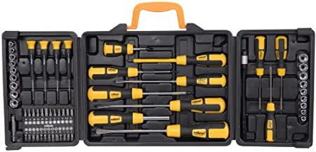 rolson 60 piece screwdriver set in blow moulded case amazon uk. Black Bedroom Furniture Sets. Home Design Ideas