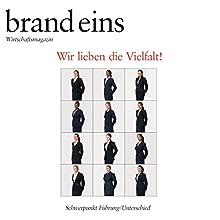 Du und der Problembär (brand eins: Führung/Unterschied) Hörbuch von Wolf Lotter Gesprochen von: Anna Doubek, Michael Bideller