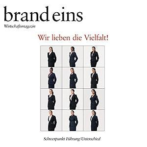 brand eins audio: Führung/Unterschied Audiomagazin
