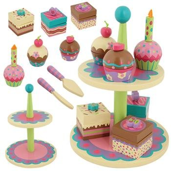 Stephen Joseph Wooden Sweet Set