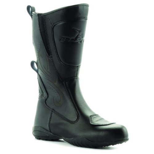 Blytz Ladies Motorcycle Boots 7 Black