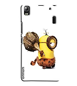 Omnam Minion In Early Age Printed Designer Back Cover Case For Lenovo K3 Note