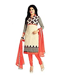 Aarvi Women's Cotton Unstiched Dress Material Multicolor -CV00107