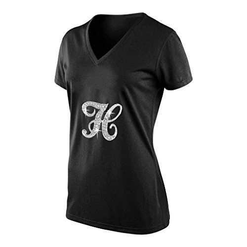 SEC-lulu Women's Fashion Designs Beautiful Womens Tees TshirtsXX-Large0Black