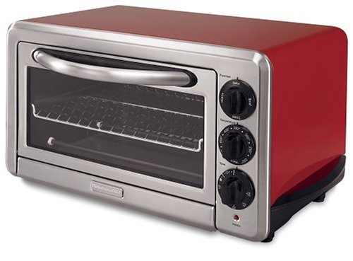 Artisan Countertop Convection Oven : Artisan Red: KitchenAid KCO1005ER 1/2-Cubic-Foot 6-Slice Countertop ...