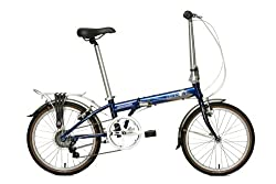 Dahon Speed D7 Folding Bike, Baltic from Dahon California Inc.