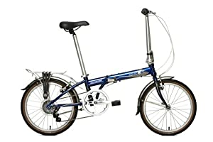 Dahon Speed D7 Folding Bike, Baltic