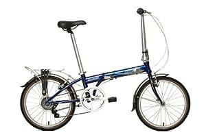 Dahon Speed D7 Folding Bike, Baltic