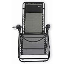 Travel Chair 2189CBBK Black Lounge Lizard Chair