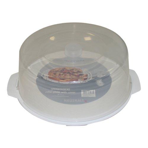 231701 Tortenplatte Kunststoff 30 cm mit Haube