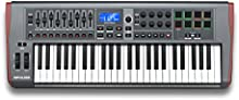Novation Impulse 49 - Teclado MIDI (USB, 84,6 cm, 33,2 cm, 10 cm, USB) Negro
