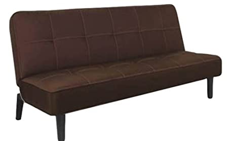 Hodedah Sofa Bed, Black/Brown