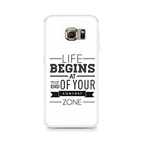 TAZindia Printed Hard Back Case Cover For Samsung Galaxy S6 Edge Plus