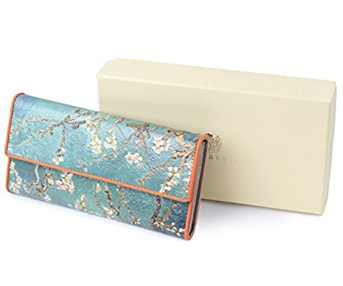 03. Borgasets Trifold Printed Leather Wallet - Van Gogh